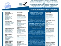020 Taxi Amsterdam Schiphol