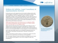 Adfidius.nl - Welkom bij Adfidius, Legal Consultancy & Implementation Services