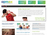 Opmax-seo.at - Hier entsteht eine neue Kunden-Website | World4You