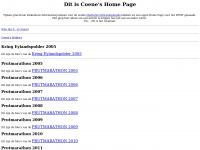 Coenevanderzee.eu - Dit is Coene's Home Page