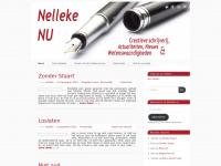 Nelleke's Blog- Creatieve schrijverij, actualiteiten en wetenswaardigheden