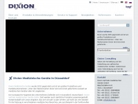 Dixion.de - Dixion - Produktion und Verkauf von medizinischen Geräten, mehr als 40 Gruppen von medizinischen Geräten.
