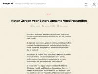 Nootjes.nl — Informatie en winkel in noten en gedroogd fruit