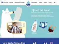 Waterspaarders | Minder warm water beter voor later