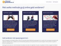Online geld verdienen - Snel een zakcentje bijverdienen