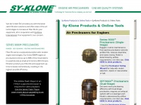 Sy-klone.eu - Sy-Klone - Engine Air Precleaners - Cab Air Quality Systems