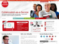 Unified Communications, audio-, web- en videosamenwerking en virtuele evenementen | Arkadin