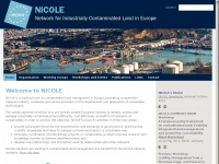 NICOLE Network for Industrially Co-ordinated Sustainable Land Management in Europe