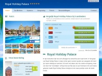 royalholidaypalace.net
