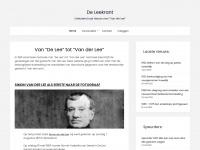 """De Leekrant – Uitsluitend oud nieuws over """"Van der Lee"""""""