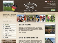 Bed and Breakfast in Sauerland - Isidorus Bed & Breakfast
