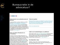 Bureaucratieindeadvocatuur.nl - Bureaucratie in de advocatuur?