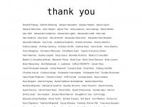 troppo tardi -  Thank you