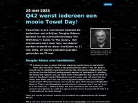 Q42 wenst iedereen een mooie Towel Day %year%!