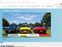 Home Page - Capri Drivers Club Belgium - Official Website