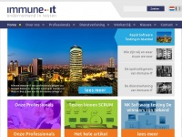 Immune.it - Immune-IT - Ondernemend in testen -  Immune-IT