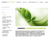 Kankerhoeverder.nl - Kanker: hoe verder? Kanker alternatief genezen