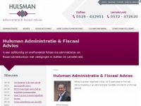 Hulsmanadm.nl - Hulsman Administratie & Fiscaal Advies in Dalfsen en Lemelerveld
