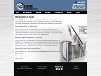 Design en maatwerk van roestvrijstaal en smeedijzer