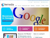 Internet marketing bureau HV Media | Bovenaan in Google | Internetbureau
