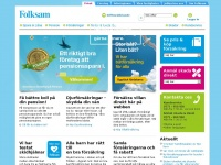 Folksam.se - Folksam Försäkringsbolag - Försäkringar och pension - Folksam