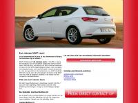 De-nieuwe-leon.nl - Een nieuwe SEAT Leon koopt u bij de dealer!