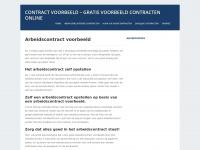 Contract voorbeeld - Voorbeelden van contracten online
