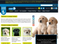 Sponsorapuppy.org.uk - Sponsor a Guide Dog Puppy - Home