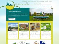De Kleine Weide - Mini-camping, Bed & Breakfast, groepsaccommodatie, vergadercentrum en Zorgboerderij
