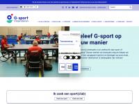 Gsportvlaanderen.be - G-sport Vlaanderen