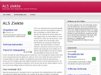 Alsziekte.nl - als symptomen leeftijd