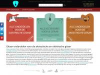 gitaaronderdelenshop.nl