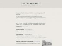 Kangabell.co - KAY BELARDINELLI — web development — providence, RI