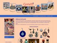 buikdanskleding, mozaiek lampen, keramiek, Turkse artikelen| Goretti