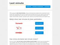 Last minute – Bekijk het laatste aanbod aan last minutes