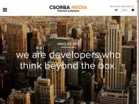 Csorba Media - Web Solutions