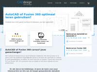 CADdesign; AutoCAD, Inventor en Fusion 360 training en support.