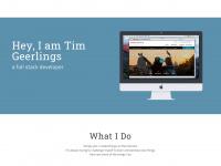 Timgeerlings.com - Tim Geerlings - Front End Developer