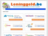leninggeld.be