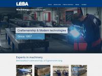 Leba.nl - HOME - Leba Metaalbewerking BV
