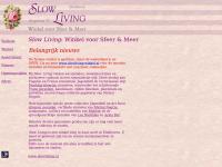 Welkom bij Slow Living