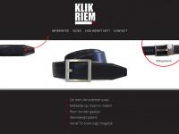 Klikriem.nl - De riem die iedereen past!