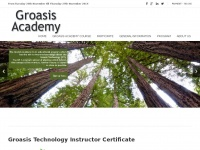 Groasisacademy.com - The Groasis Institute organizes the Academy