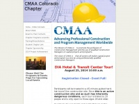 Cmaacolorado.net - CMAA is leading the growth and acceptance of construction management as a professional discipline that can add significant value to the entire construction process, CMAA Colorado Home - CMAA Colorado
