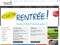 Umontreal.ca - Université de Montréal / UdeM