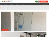 Online goedkoop glazen douchedeur, douchewand of keuken achterwand bestellen bij Glasconcept.nl