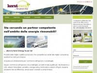 Kerst-energy.it - Sta cercando un partner competente nell'ambito delle energie rinnovabili? - Kerst Energy