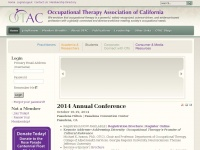 Otaconline.org - Occupational Therapy Association of California (OTAC)