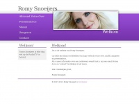 Romy Snoeijers, The Voice Over of Holland!