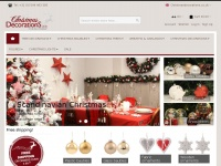 All your Christmas decorations 24/7 online available | Christmasdecorations.co.uk